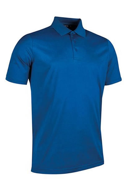 Tarth – Glenmuir Men's Plain Mercerised Cotton golf Polo Shirt